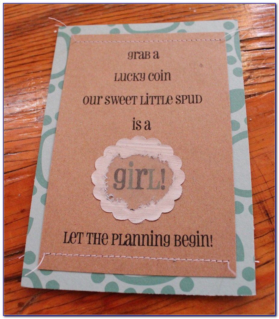 Gender Reveal Scratch Off Printable Template