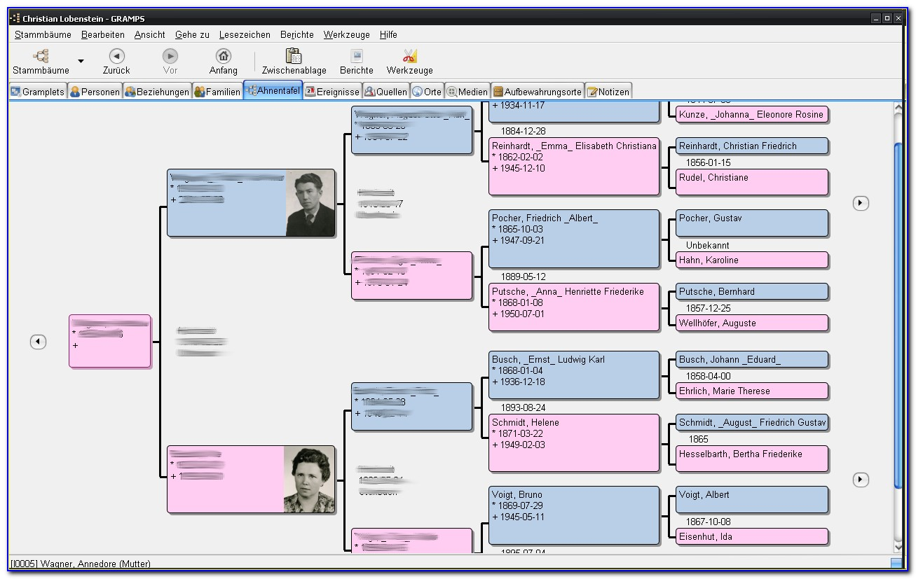 Genealogy Tree Powerpoint Template