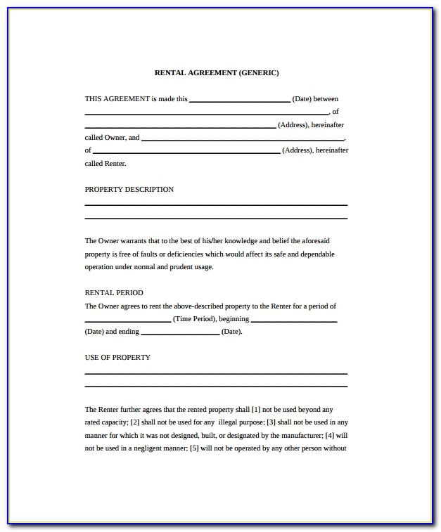 General Job Application Form Pdf Download