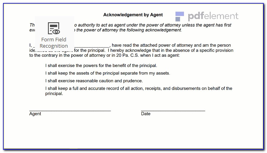 General Power Of Attorney Virginia Template