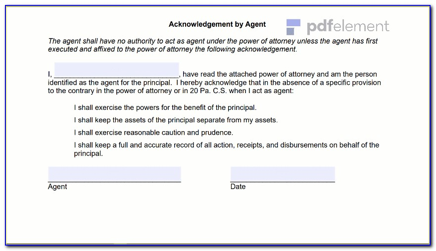General Power Of Attorney Virginia Template (105)
