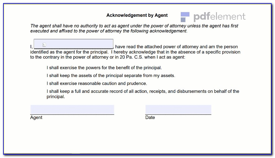 General Power Of Attorney Virginia Template (114)