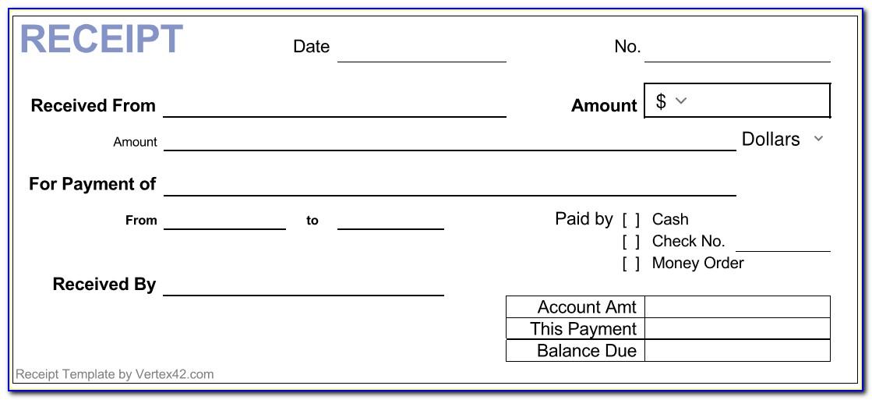 Generic Invoice Template Microsoft Word