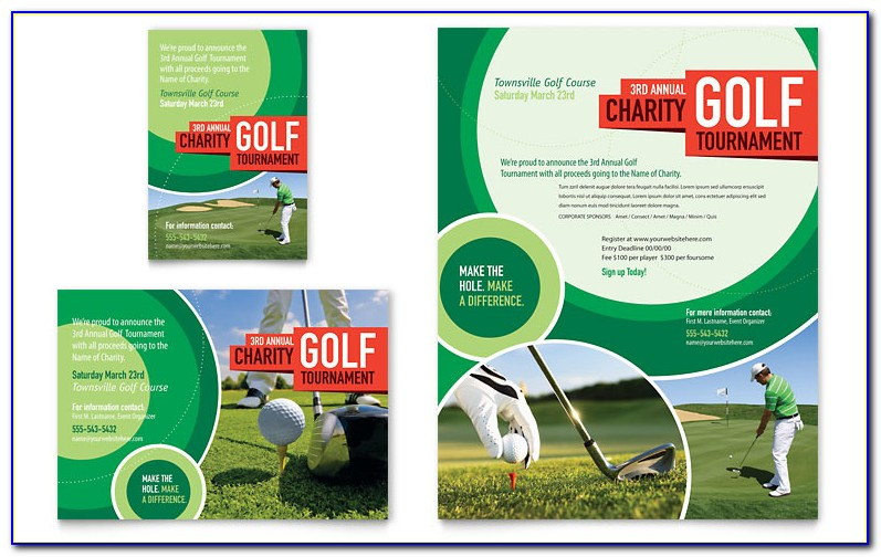 Golf League Schedule Template