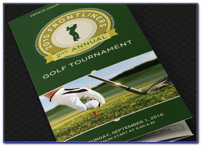 Golf Scramble Registration Form Template