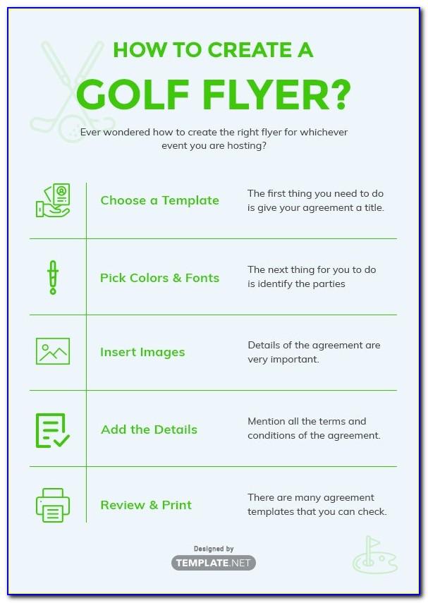 Golf Tournament Flyer Template Powerpoint Free