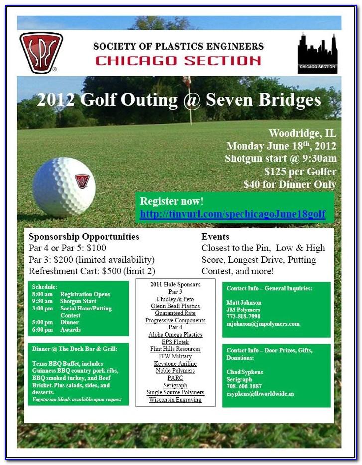Golf Tournament Flyers Samples