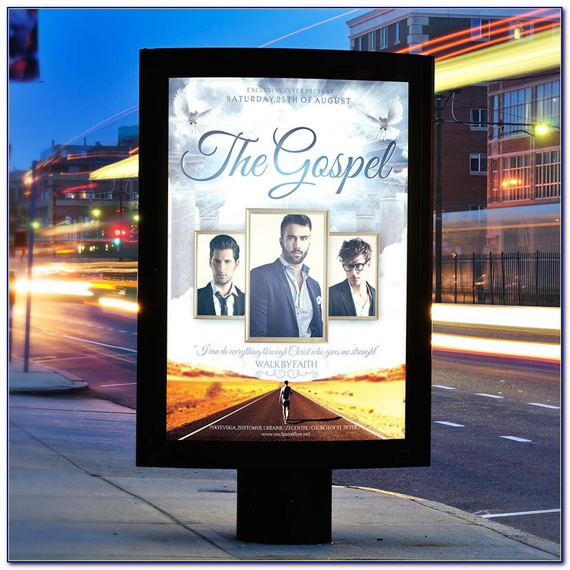 Gospel Flyer Template Free