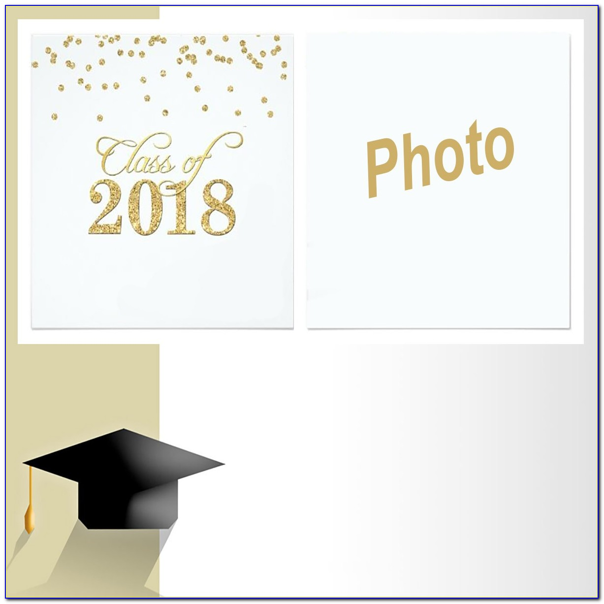 Graduation Announcement Template Free 2018