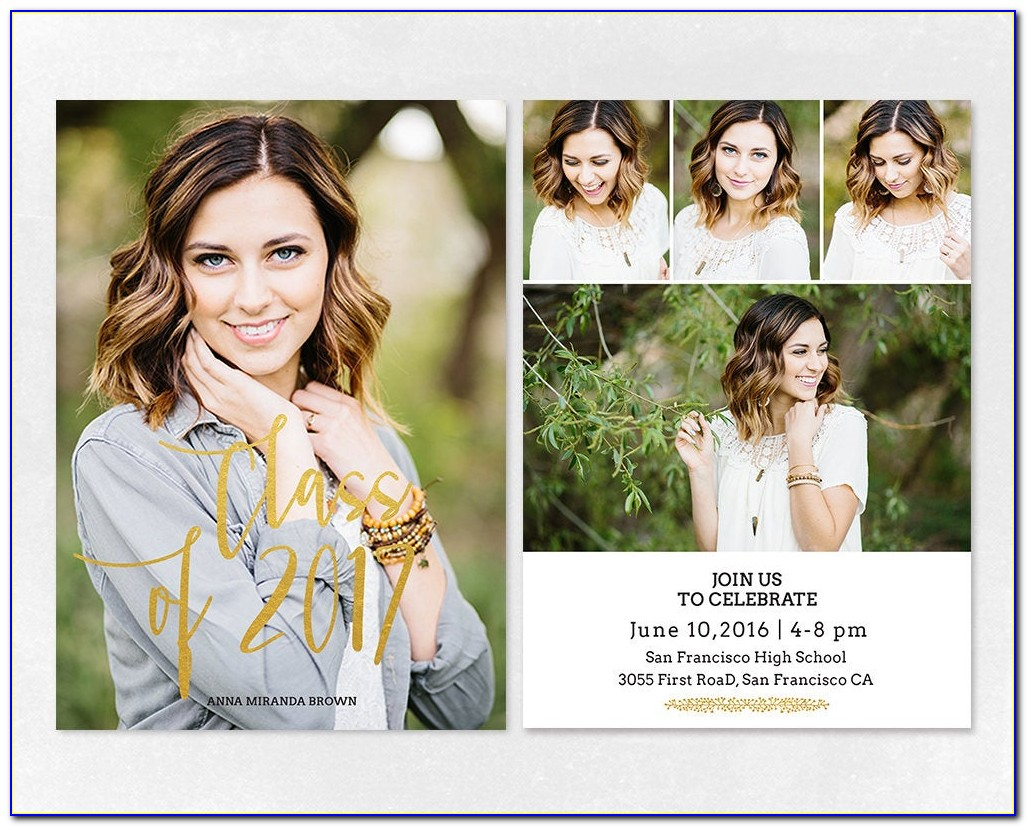 Graduation Announcement Templates Free 2012