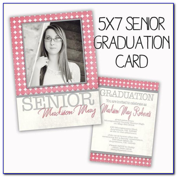 Graduation Invitation Card Template Word
