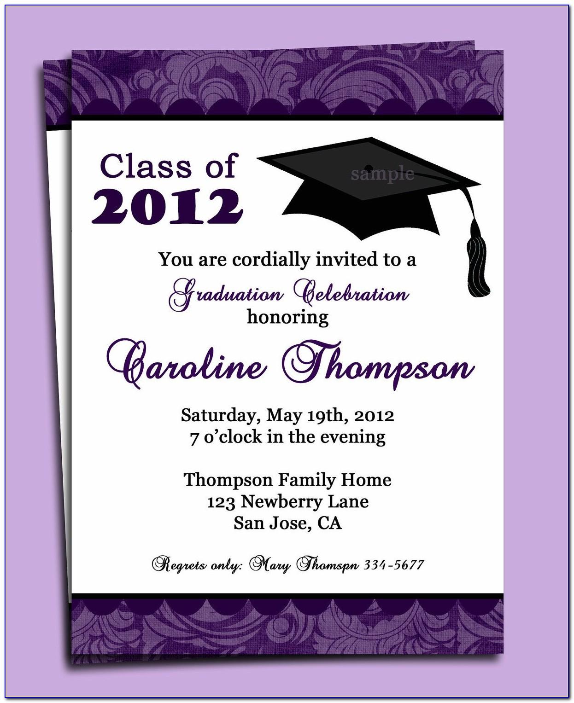 Graduation Invitation Creator Free Online