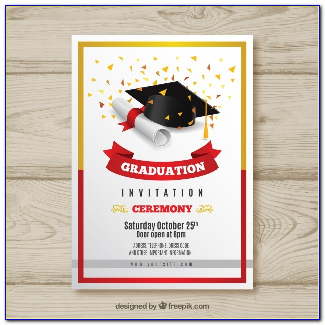 Graduation Invitation Designs Free