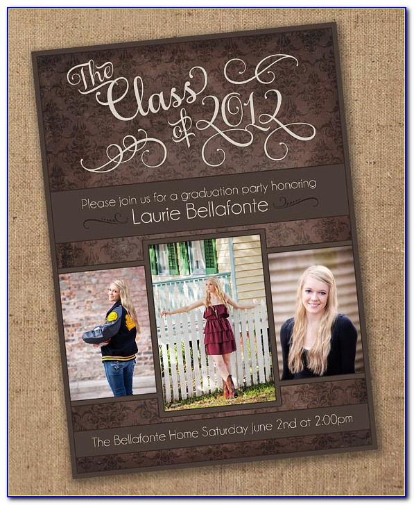 Graduation Invitation Template Download Free