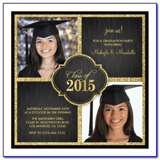 Graduation Party Invitation Maker Free