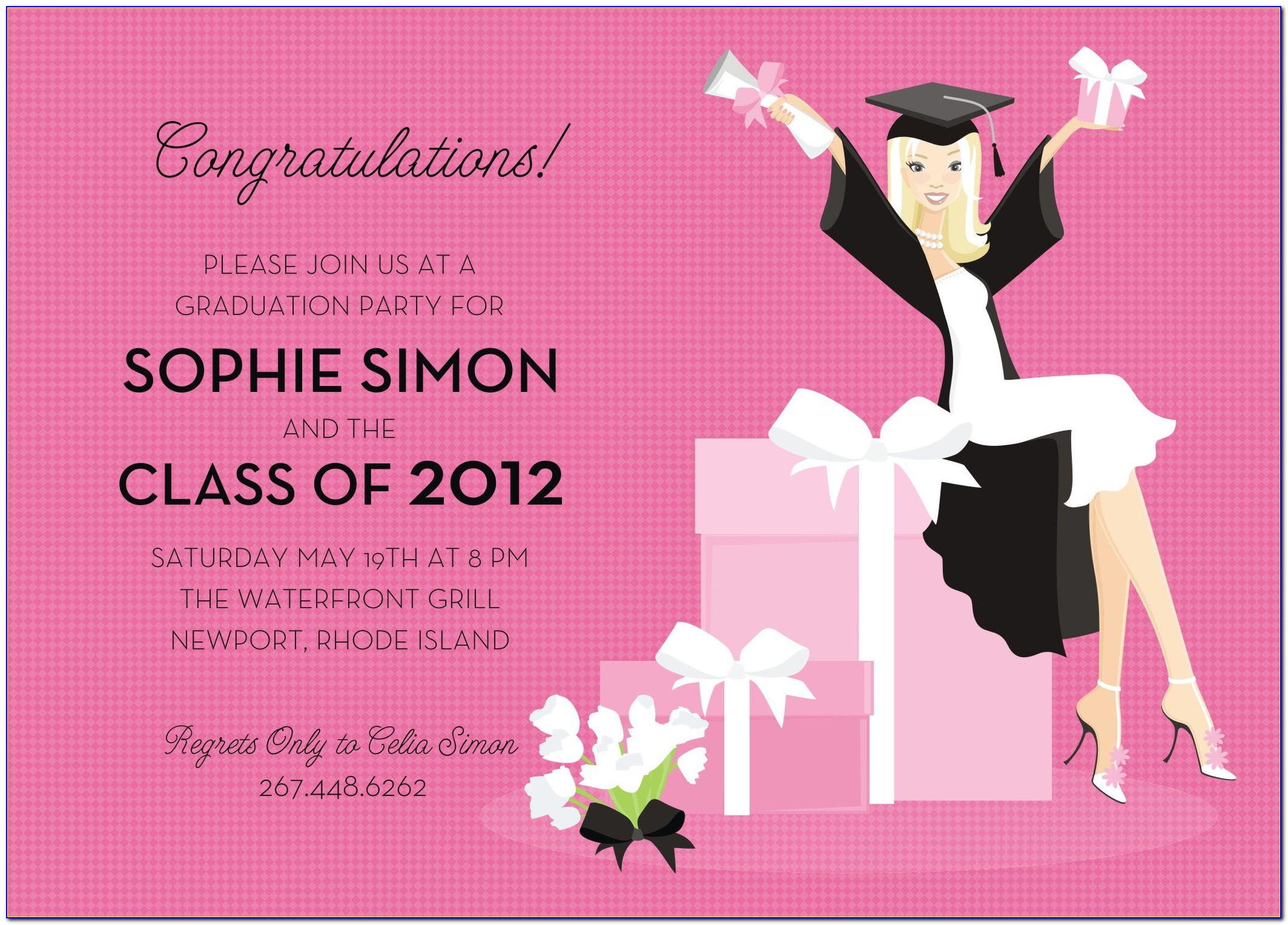 Graduation Party Invitation Template Download