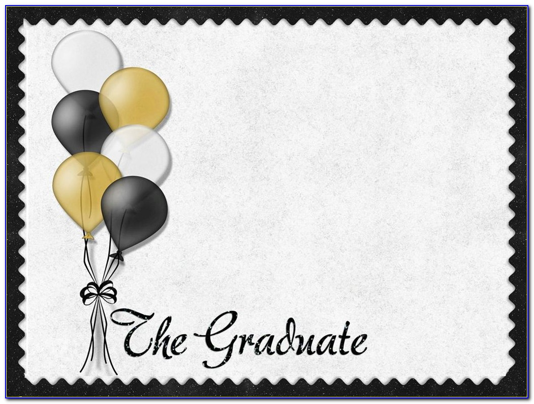 Graduation Party Invitation Templates Powerpoint