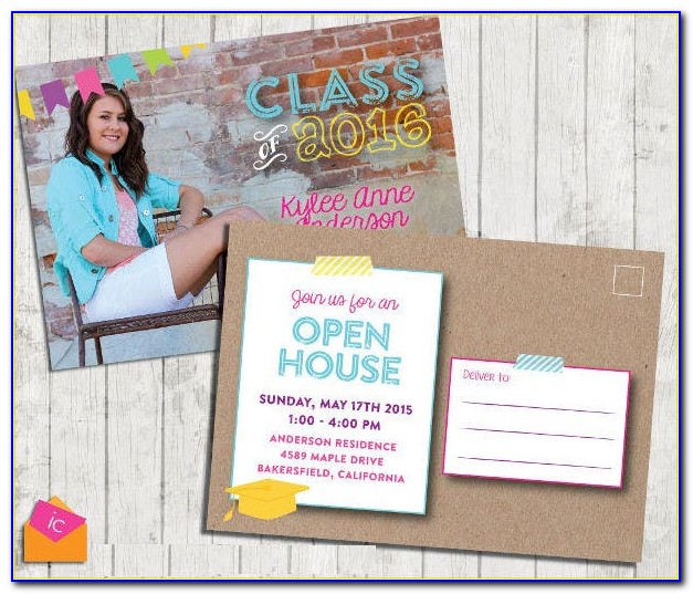 Graduation Party Invitations Templates