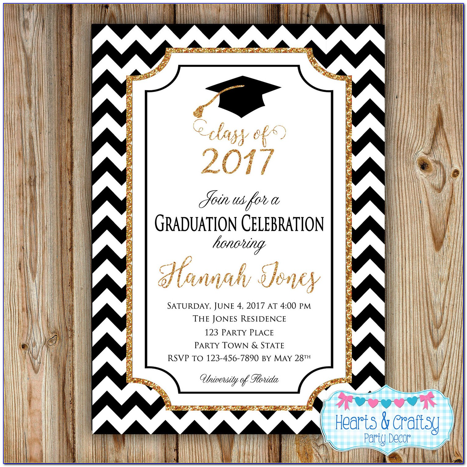 Graduation Party Invite Template Free