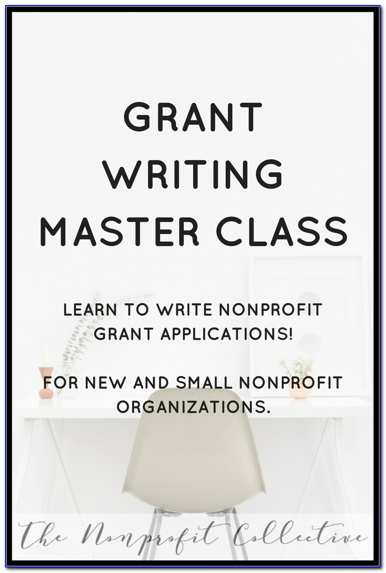 Grant Writing For Nonprofit Organizations Courses