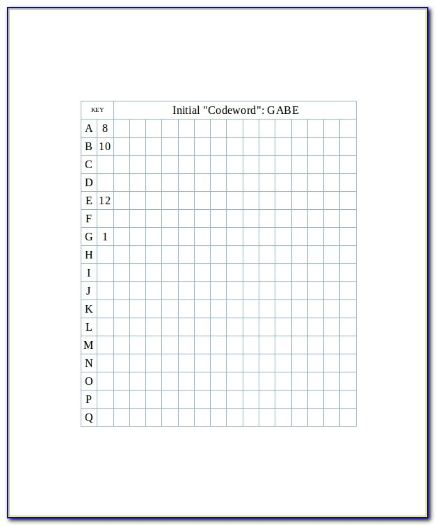 Graph Paper Printable Excel