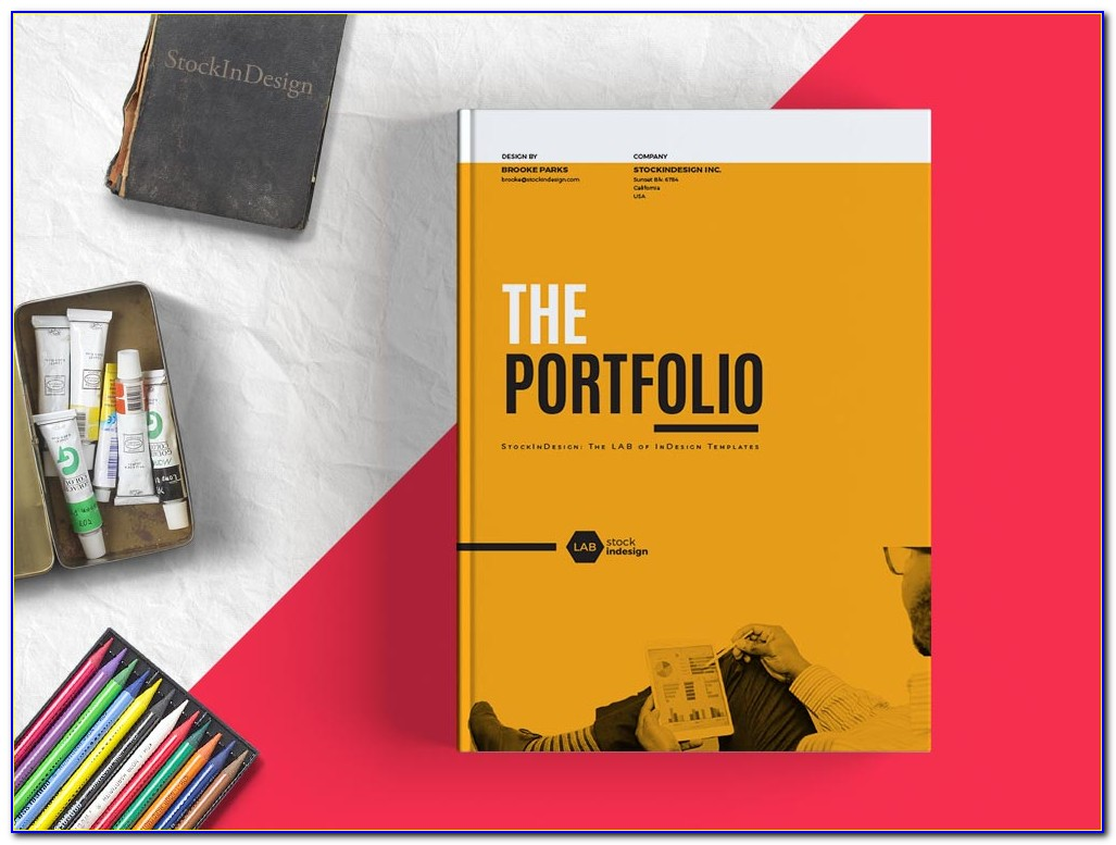 Graphic Design Portfolio Template Indesign Free