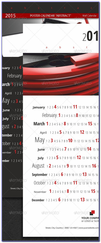 Graphicriver 2015 Poster Calendar Template