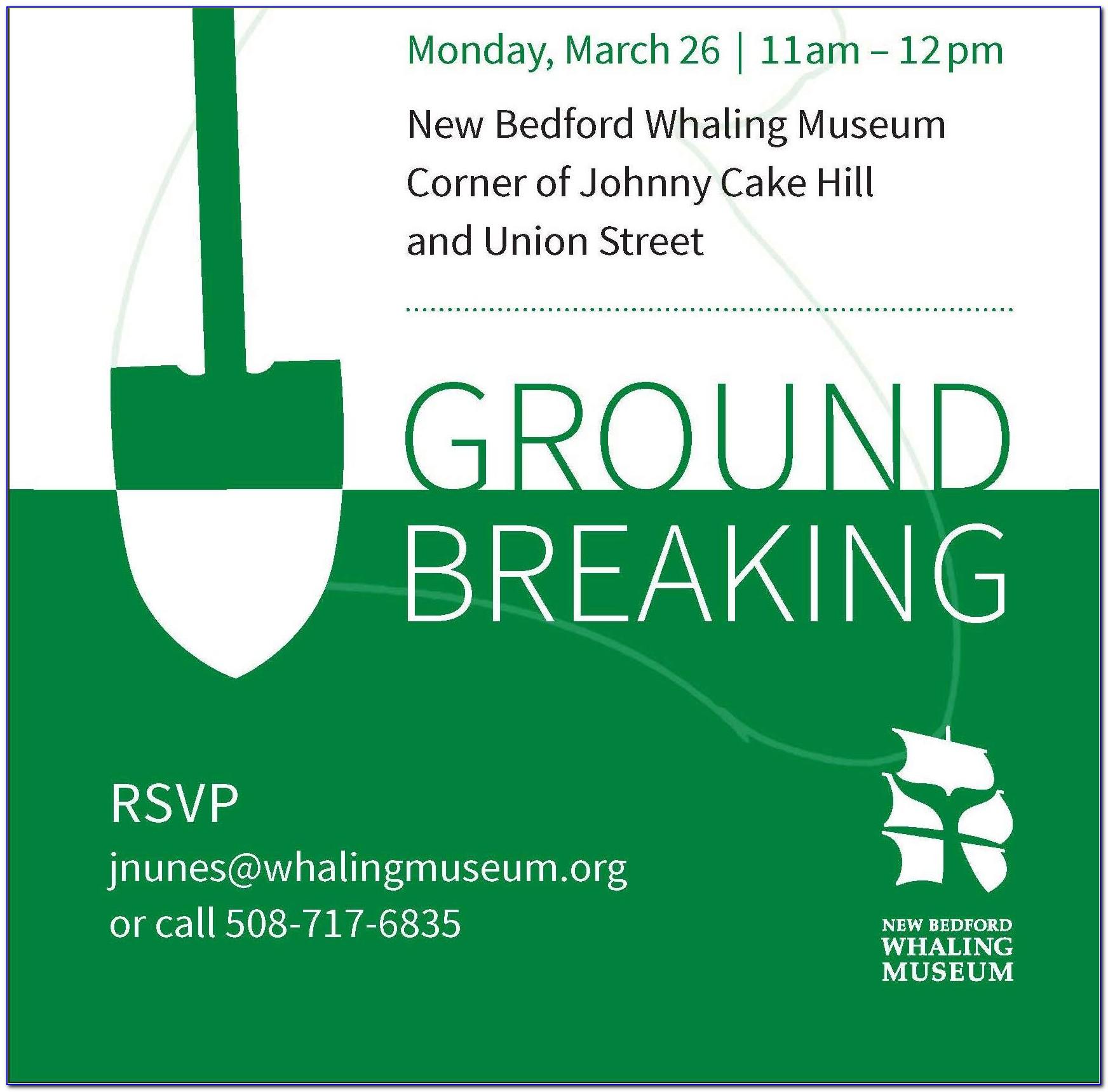 Groundbreaking Ceremony Invitation Templates