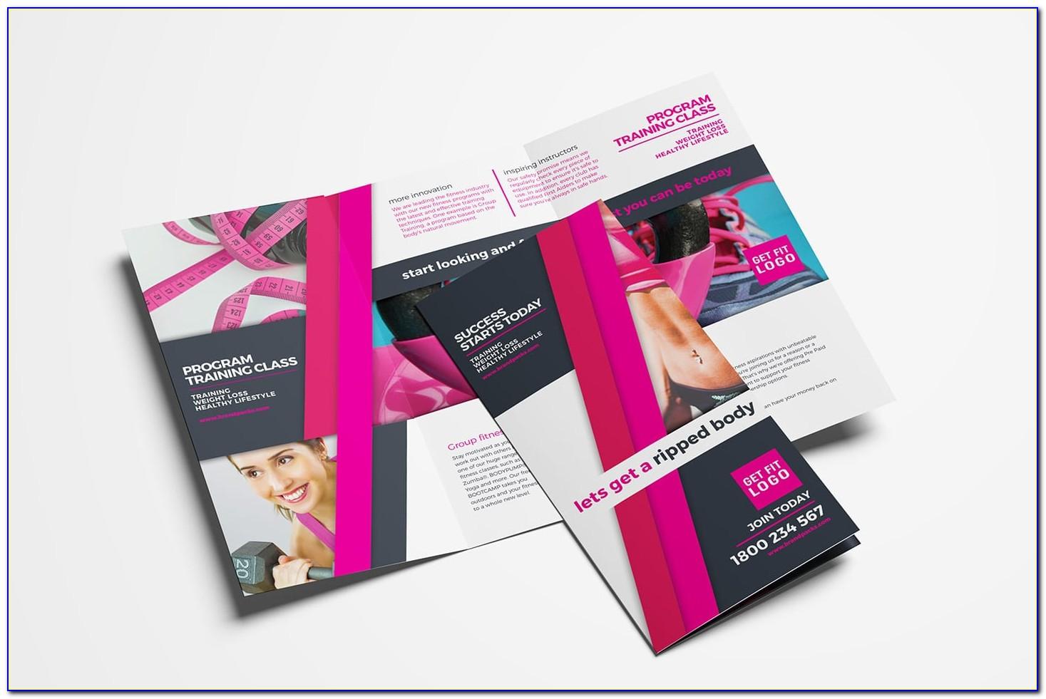 Gym Brochure Template Free