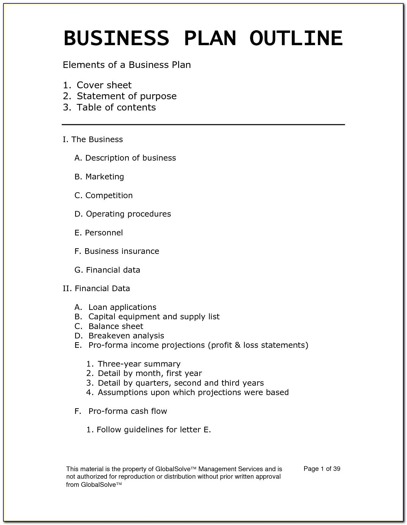 Hair And Beauty Salon Business Plan Sample Pdf