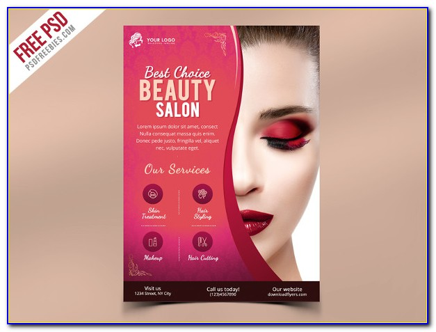 Hair Salon Flyer Ideas