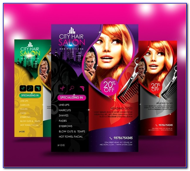 Hair Salon Price List Template Word Free