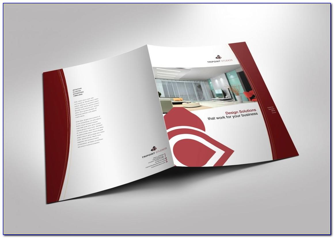 Half Fold Brochure Template Canva