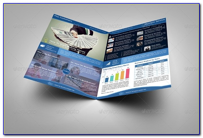 Half Fold Brochure Template Free Download