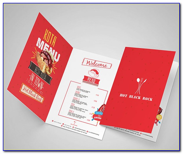 Half Fold Brochure Template Free Word
