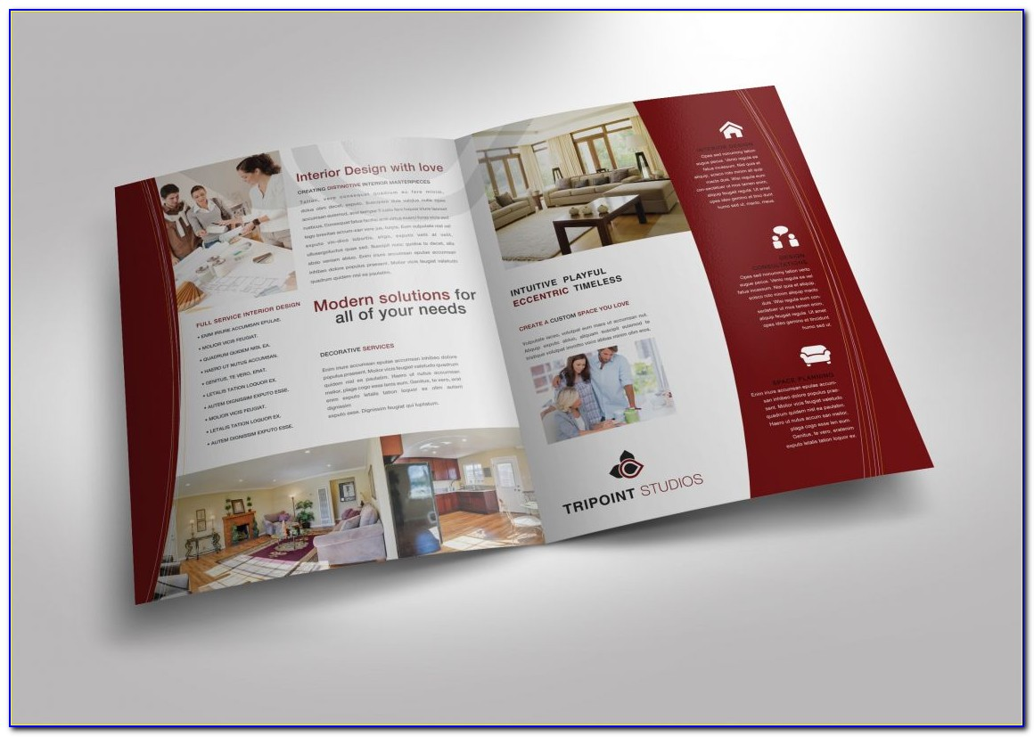 Half Fold Brochure Template Microsoft Publisher