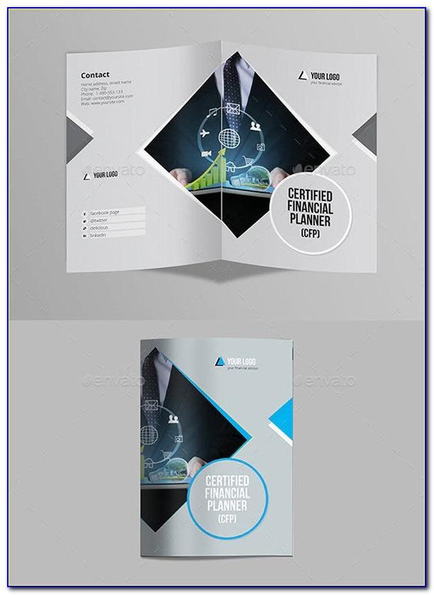 Half Fold Brochure Template Publisher