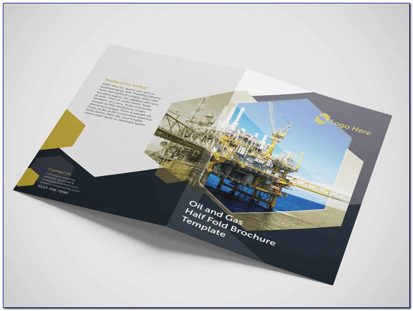 Half Fold Brochure Templates Free