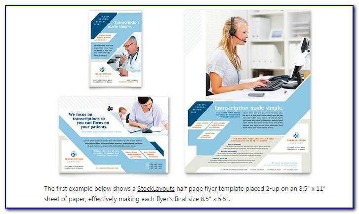 Half Page Flyer Template Google Docs