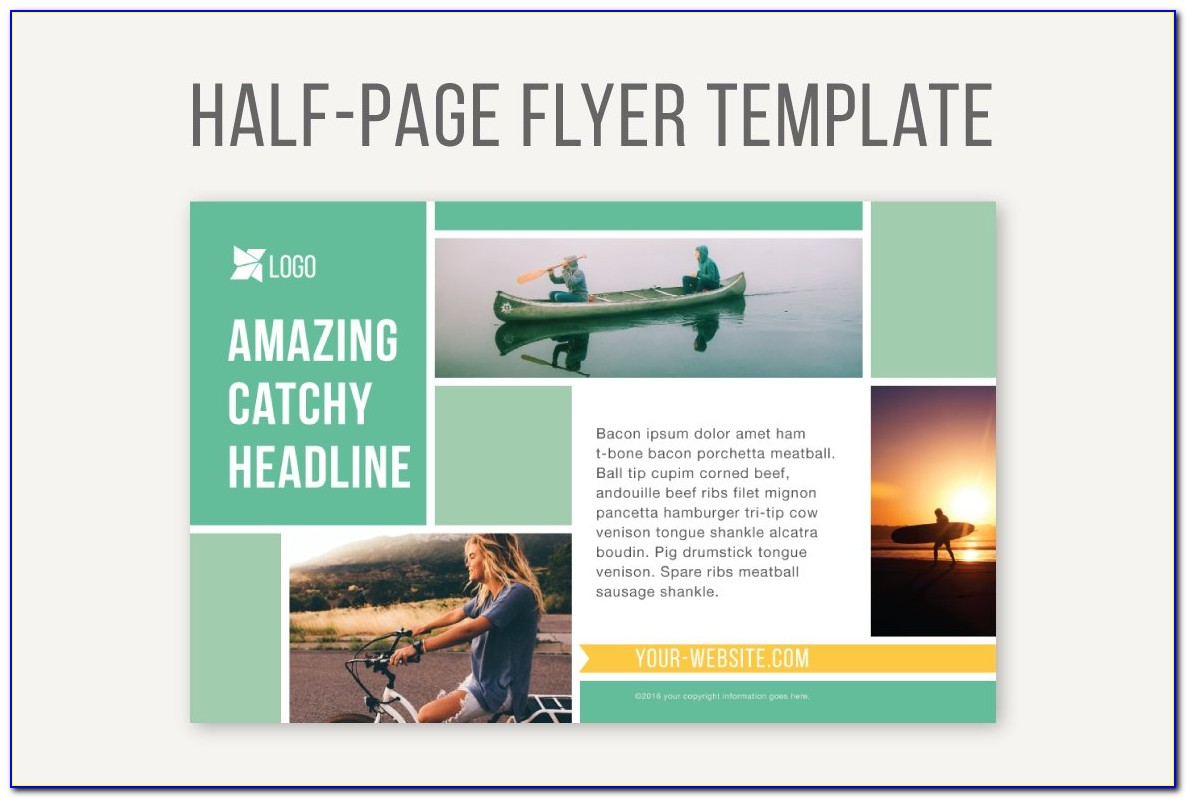 Half Page Flyer Template Open Office