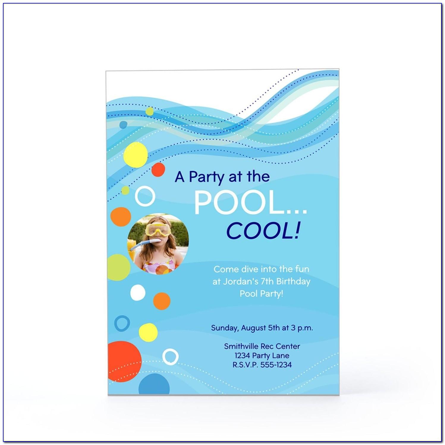Hallmark Birthday Invitation Templates