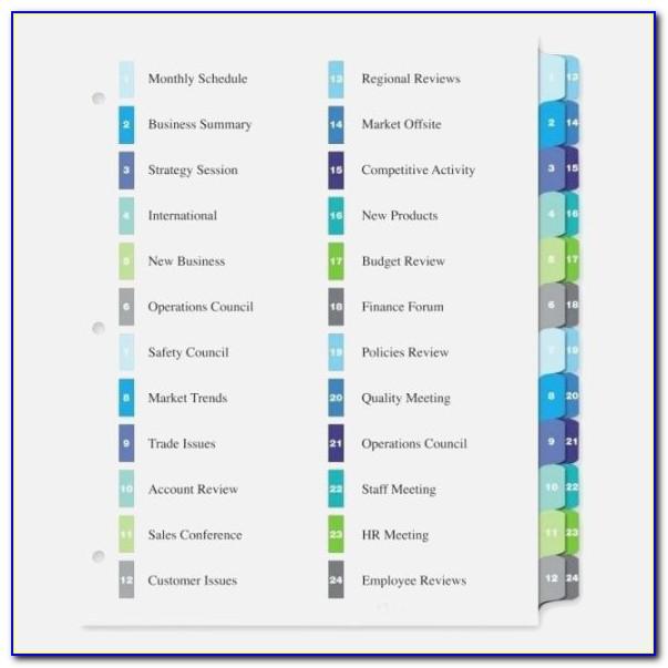 Hanging Folder Labels Template Free