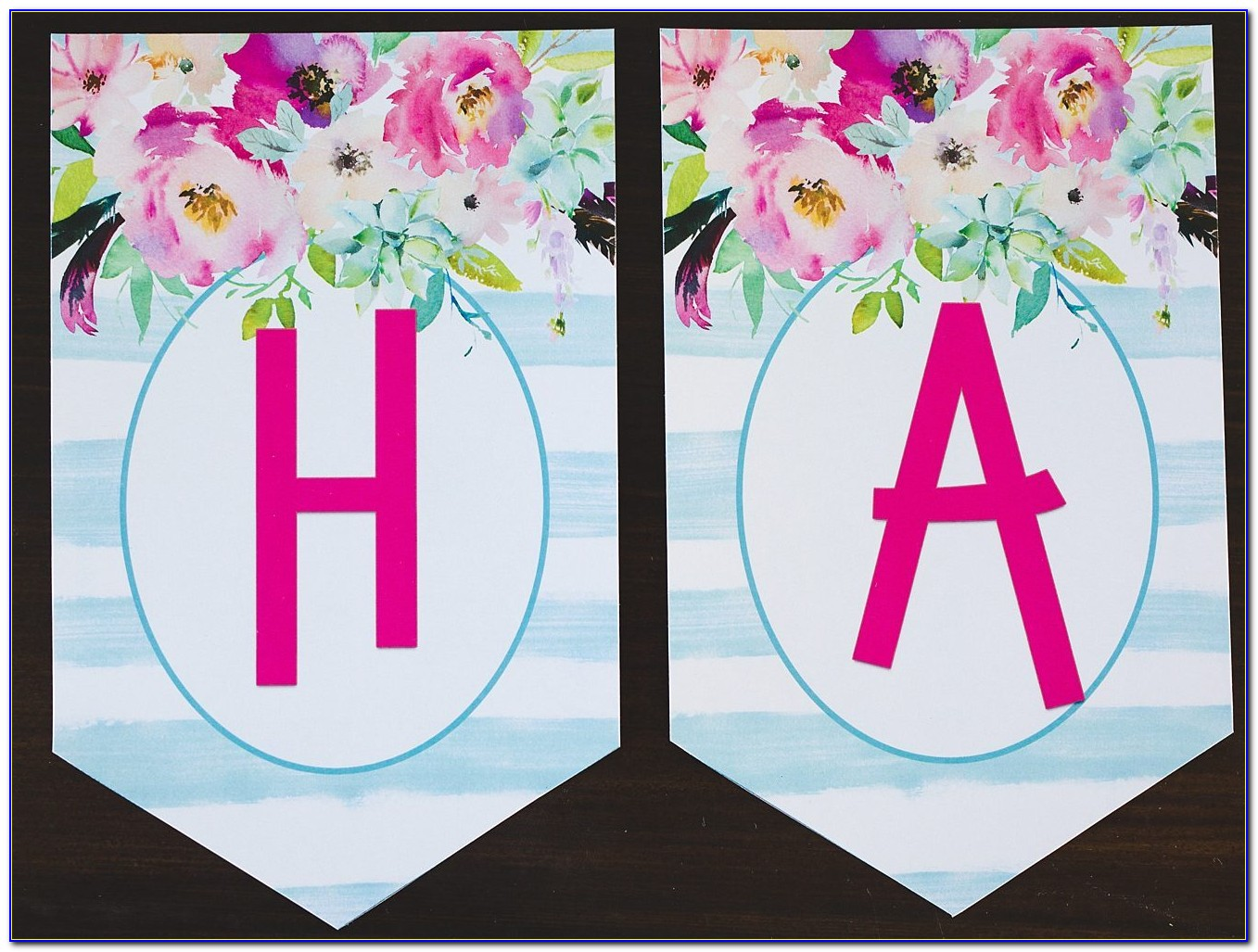 Happy Birthday Banner Template Free Printable