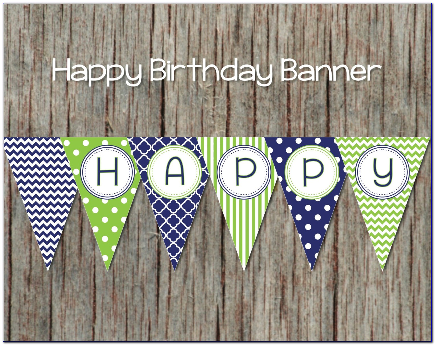 Happy Birthday Banner Template Free Psd