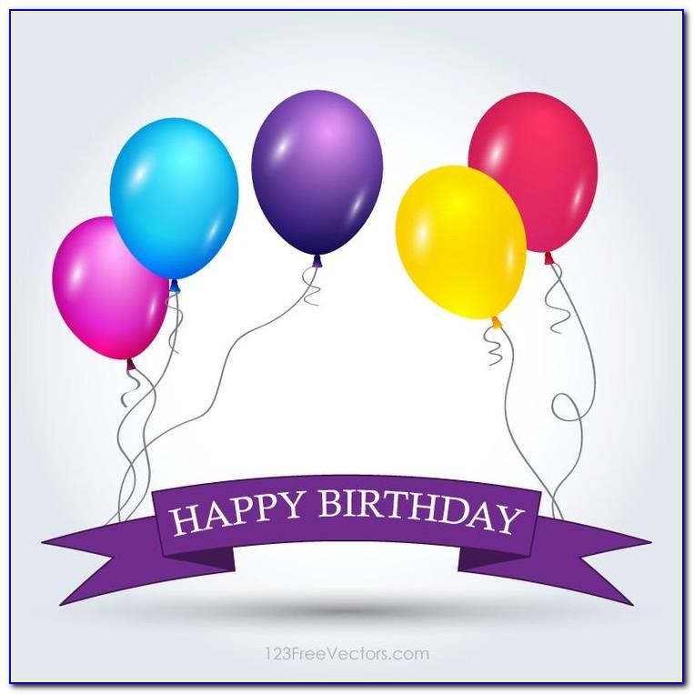 Happy Birthday Banner Template Microsoft Word