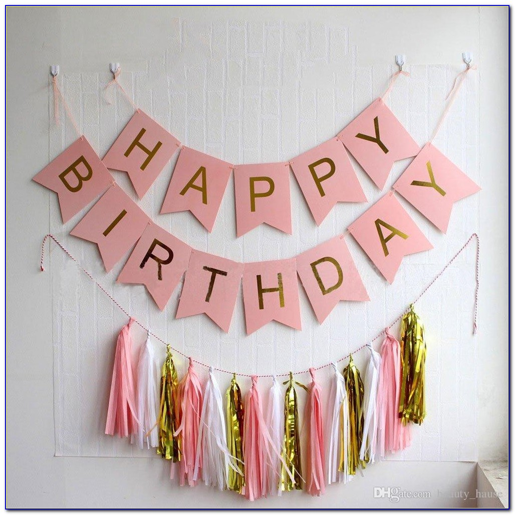 Happy Birthday Banner Template Printable Free