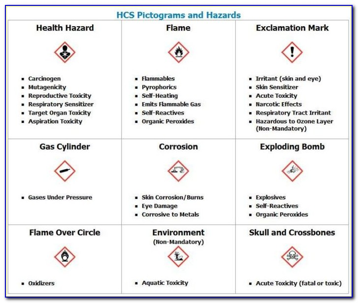 Hazard Communication Program Sample