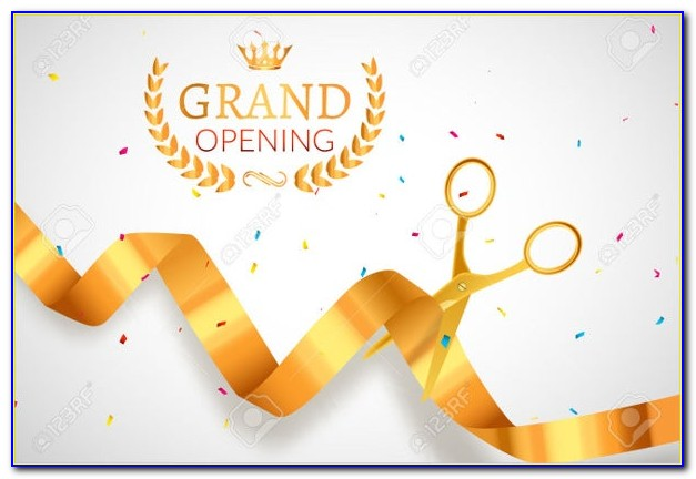 Hotel Grand Opening Invitation Design