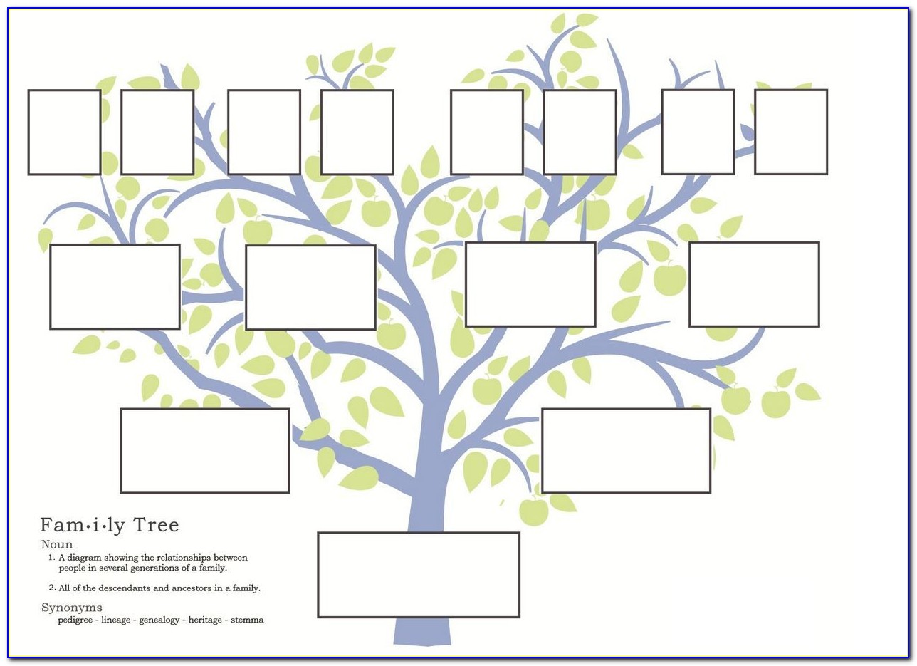 Irish Genealogy Family Tree Template