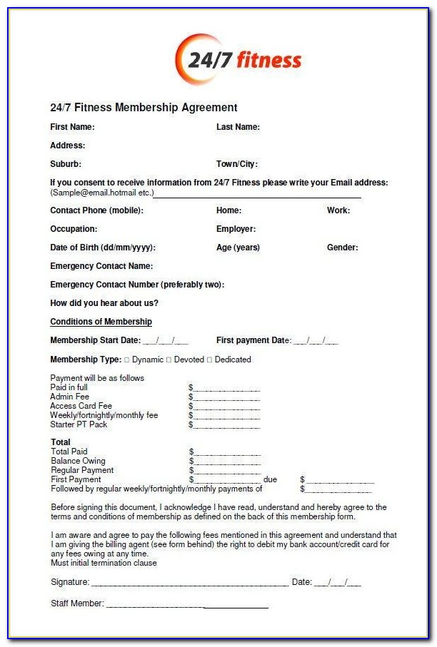 Jetts Gym Membership Cancellation Form